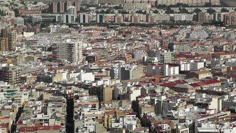 Alicante Spain 26 aerial Stock Video Footage