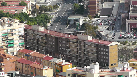 Alicante Spain 33 aerial Stock Video Footage