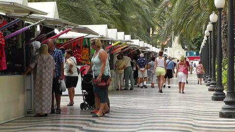 Alicante Spain 47 corso Stock Video Footage
