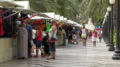 Alicante Spain 47 corso Footage