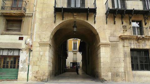 Alicante Spain 68 Placa Ajutament Stock Video Footage