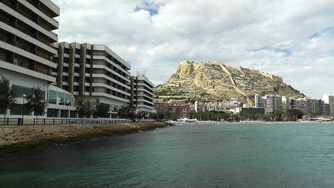 Alicante Spain 86 beach Stock Video Footage