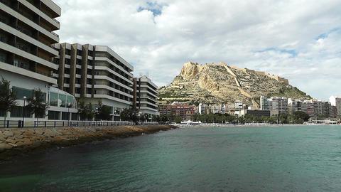 Alicante Spain 86 beach Stock Video Footage