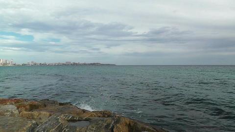 Alicante Spain 92 beach Stock Video Footage