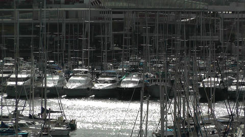 Alicante Spain 105 port Footage