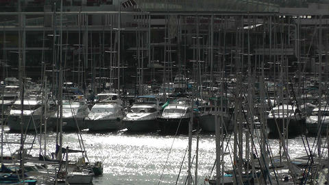 Alicante Spain 105 port Stock Video Footage