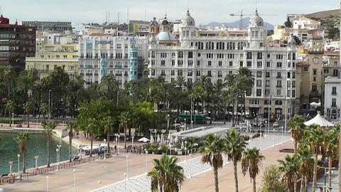 Alicante Spain 107 Stock Video Footage