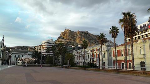 Alicante Spain 120 Stock Video Footage