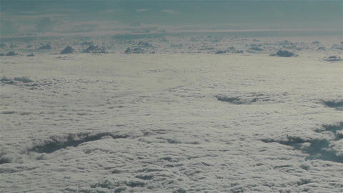 Altocumulus from Above 1 Stock Video Footage