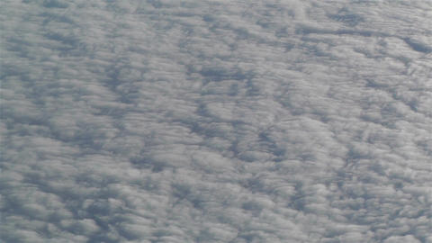 Altocumulus from Above 3 Stock Video Footage