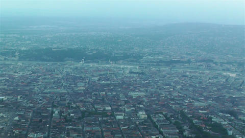 Budapest Aerial 2 Stock Video Footage