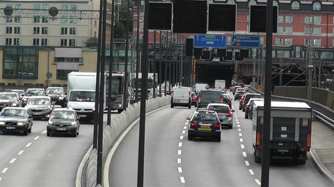 Gamla Stan Stockholm 2013 2 traffic Footage