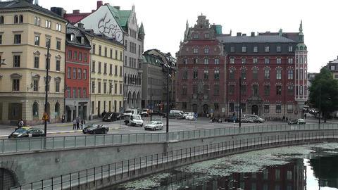 Gamla Stan Stockholm 2013 4 Stock Video Footage