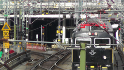 Gamla Stan Stockholm 2013 8 train Stock Video Footage
