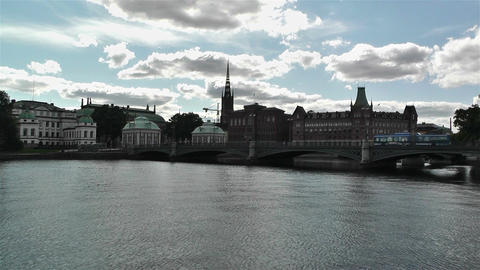 Gamla Stan Stockholm 2013 18 Stock Video Footage