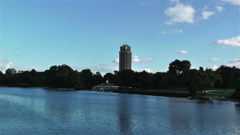 Hyde Park London 5 Stock Video Footage