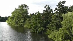 Hyde Park London 11 handheld Stock Video Footage