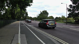 Hyde Park London 14 handheld Stock Video Footage