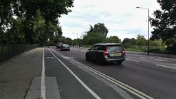 Hyde Park London 14 handheld Stock Video Footage