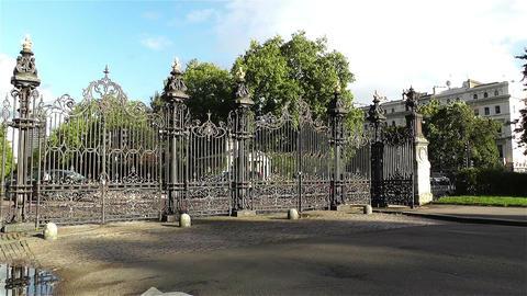 Hyde Park London 17 handheld Stock Video Footage