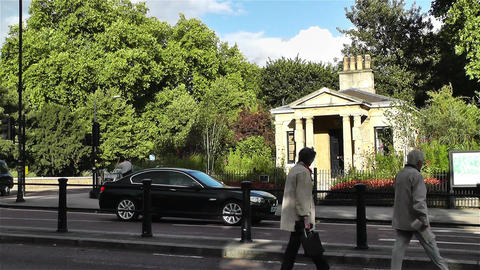 Hyde Park London 19 handheld Stock Video Footage