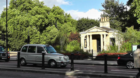 Hyde Park London 19 handheld Stock Video Footage