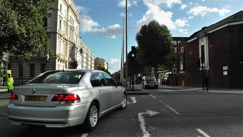 Hyde Park London Kensington Road 21 handheld Footage