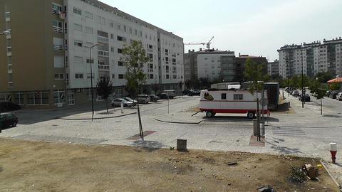 Lisbon Suburb 3 Stock Video Footage