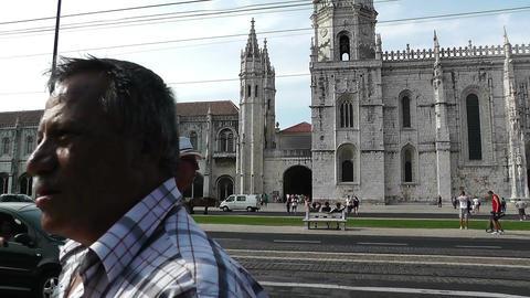 Lisbon Portugal 1 Jeronimos Monastery Footage