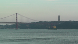 Lisbon Portugal 17 April 25 Bridge Footage