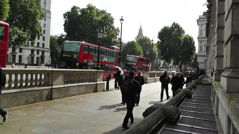 London Downtown 1 Stock Video Footage