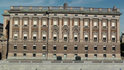 Parliament of Sweden Stockholm 10 Stock Video Footage