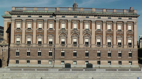 Parliament Of Sweden Stockholm 10 stock footage