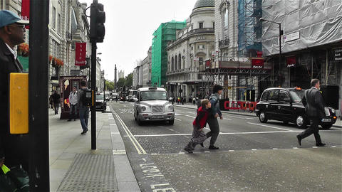 Piccadily Circus London 2 Stock Video Footage
