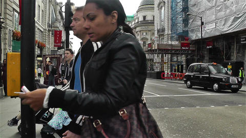 Piccadily Circus London 2 Footage