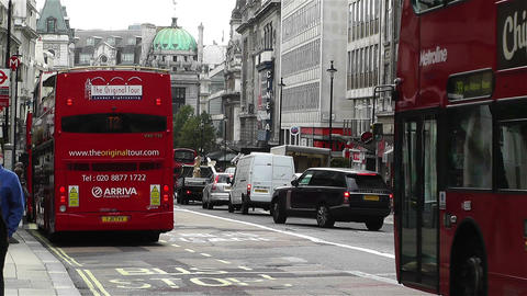 Piccadily Circus London 22 Stock Video Footage
