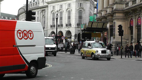 Piccadily Circus London 24 Stock Video Footage