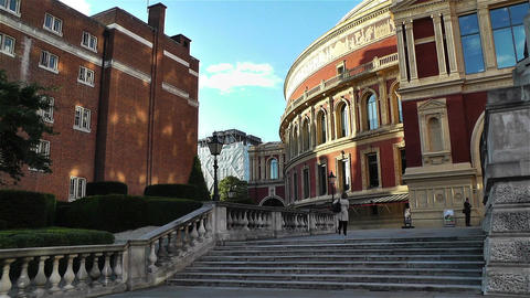 Royal Albert Hall London 3 Stock Video Footage