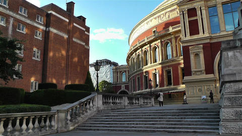 Royal Albert Hall London 3 Stock Video Footage