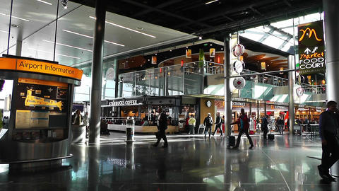 Schipol Airport Amsterdam 2 Stock Video Footage
