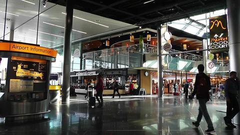 Schipol Airport Amsterdam 2 Footage
