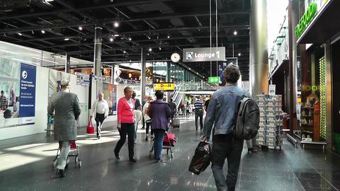 Schipol Airport Amsterdam 4 Footage