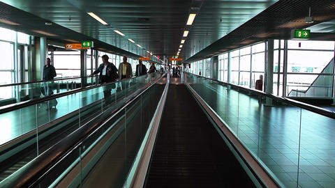 Schipol Airport Amsterdam 18 Stock Video Footage