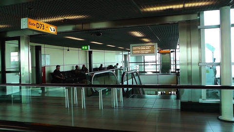 Schipol Airport Amsterdam 20 Stock Video Footage