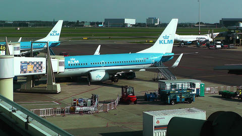 Schipol Airport Amsterdam 22 Stock Video Footage