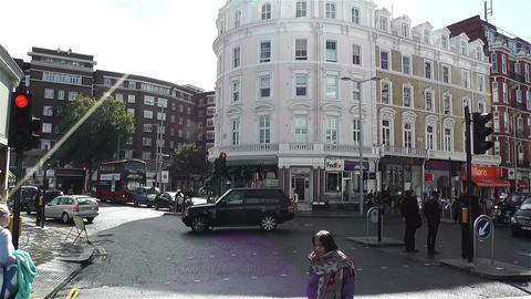 South Kensington London 2 handheld Footage
