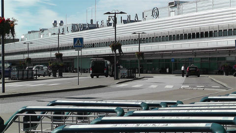 Stockholm Arlanda International Airport 3 Stock Video Footage
