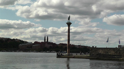 Stockholm at Town Hall Stock Video Footage