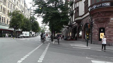 Stockholm Birger Jarlsgatan 2 Footage