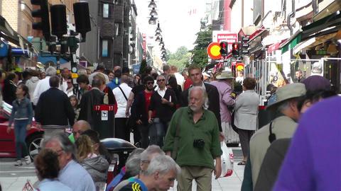 Stockholm Drottniggatan 2 Footage